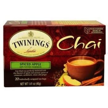 Twinings Spiced apple flavored tea - 20 ct bags