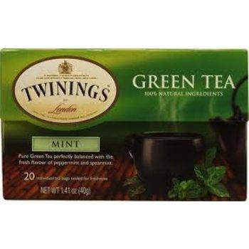 Twinings Green Mint tea - 20 ct bags