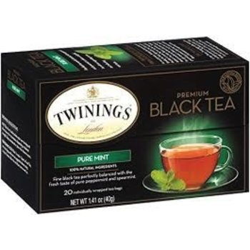 Twinings Pure peppermint herbal tea-20 ct bags