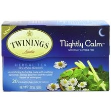 Twinings Bedtime tea blend caffee free - 20 ct bags