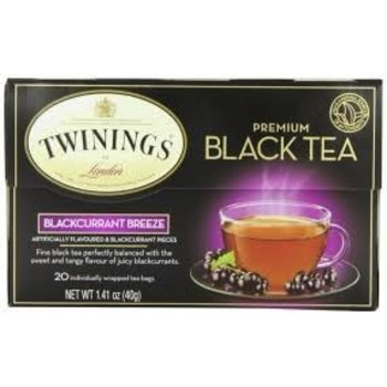 Twinings Black currant flavored black tea-20 ct bags