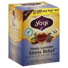 Yogi Honey Lavendar stress relief tea - 16 ct