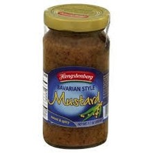 Hengstenberg Mustard Sweet - 7 oz jar