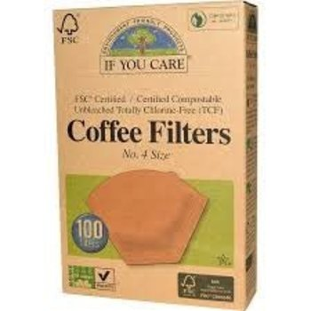 If You Care Coffee filters No 4