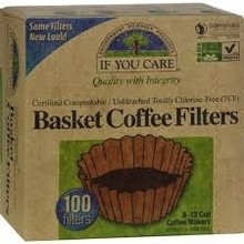 If You Care Coffee Filters all natural 8 inch round