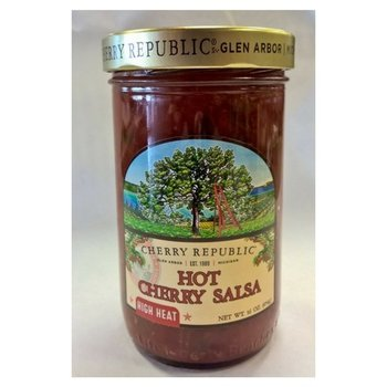 Cherry Republic Hot Cherry Salsa 16 OZ Jar