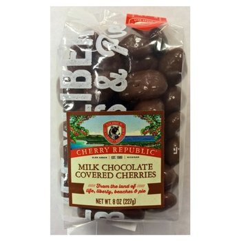 Cherry Republic Milk Chocolate Covered Cherries 8 oz