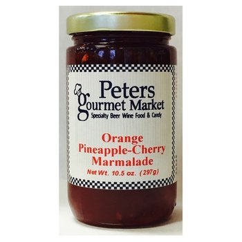 Peters Orange Pineapple-Cherry Marmalade 10.5 OZ