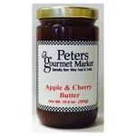Peters Apple & Cherry Butter 10 OZ