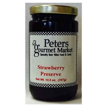 Peters Strawberry Preserves 10.5 OZ