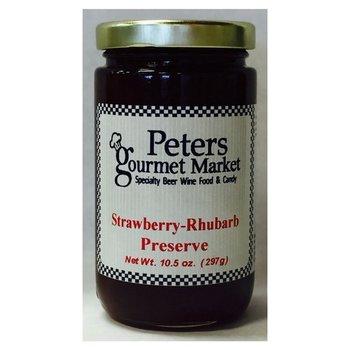 Peters Strawberry - Rhubarb Preserve 10.5 OZ