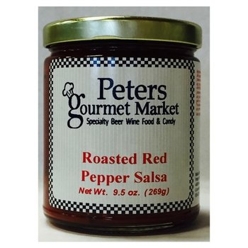 Peters Roasted Red Pepper Salsa 10 OZ