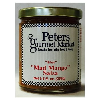 Peters Mad Mango Salsa 10 OZ
