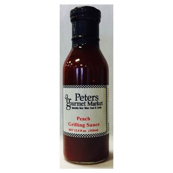 Peters Peach Grilling Sauce 12 OZ