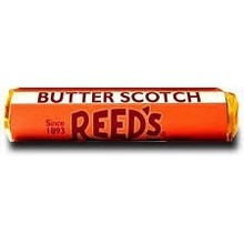 Reeds Butterscotch candy roll 1 oz