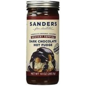 Sanders Dark Chocolate Topping 10 OZ