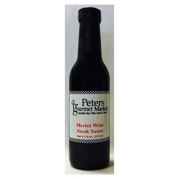 Peters Merlot Wine Steak Sauce 9.5 OZ
