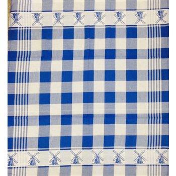 Twenstse Dutch Mill Blue Tea Towel 25x23 inches