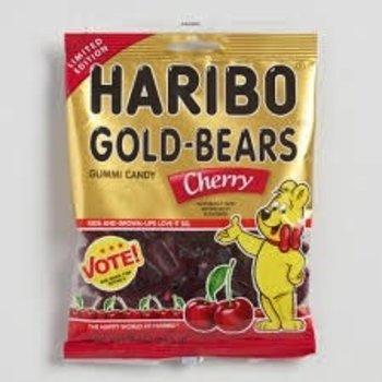 Haribo Cherry Gold Bears 4 Oz Bag