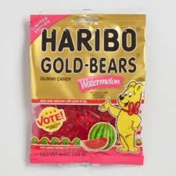 Haribo Watermelon Gold Bears - 4 Oz Bag