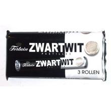 Fortuin Black & White Licorice Pastilles - 3 roll pack