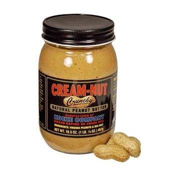 Koeze Crunchy Peanut Butter 16.5 OZ Jar