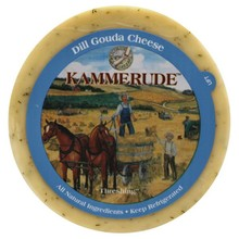 Kammerude Dill Gouda Cheese - 8 OZ