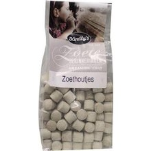 Kindlys Zoethoudjes - licorice pellets - gray - 7 OZ Bag