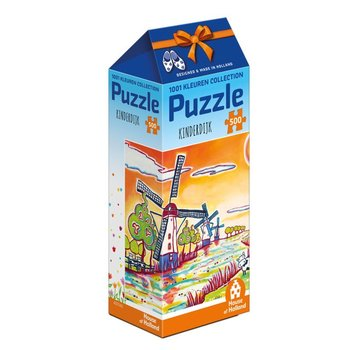 Games Kinderdijk Holland 500 Piece Puzzle