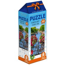 Games Colorful Canal Holland 500 Piece Puzzle