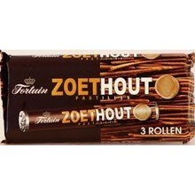 Fortuin Zoethout Pastilles 3 Roll Pack