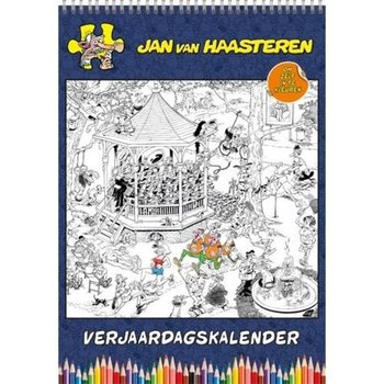 Jan van Haarsteren Color it Yourself Birthday Calendar Now $9.95