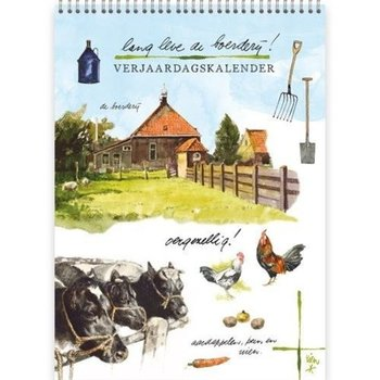 Rien Poortvliet Long Live the Farm Birthday Calendar
