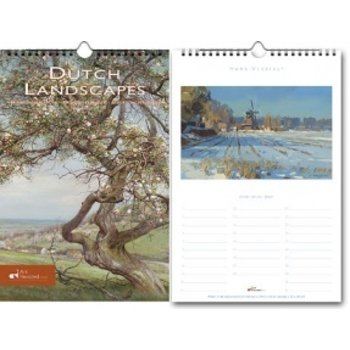 Dutch Landscapes Birthday Calendar