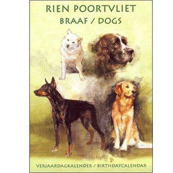 Rien Poortvliet Dogs Birthday Calendar