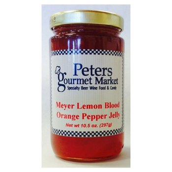 Peters Meyer Lemon Blood Orange Pepper Jelly 10.5 OZ