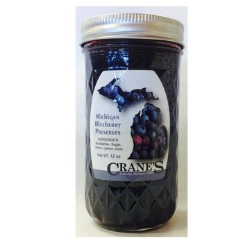 Cranes Blueberry Preserves 12 oz