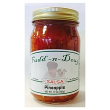 Fudd-n-Doug Pineapple Salsa  - 17 Oz Glass Jar