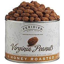 Feridies Honey Roasted Virgina Peanuts 9 oz can
