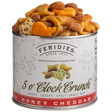 Feridies Honey Cheddar 5 o clock crunch 6 oz can