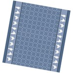 DDDDD Blue Chicken Tea Towel  24x25