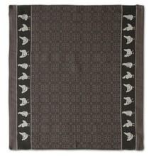 DDDDD Grey Chicken Tea Towel  24x25