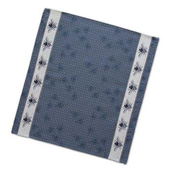 DDDDD Blue Honey Bees Tea Towel  24x25