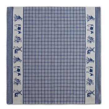 DDDDD Dutchie Blue Tea Towel 24x25