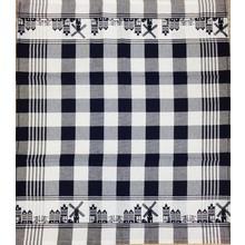 Twenstse Skyline Black Tea Towel 25x23 inch