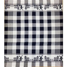 Twenstse Skyline Black Tea Towel 25x23 inche
