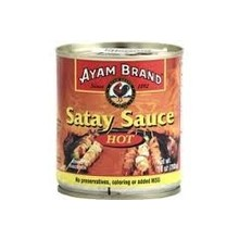 Ayam Peanut Satey Hot Sauce 10 Oz jar