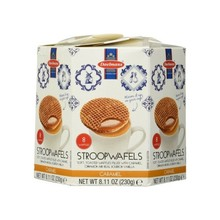 Daelmans Caramel Syrupwafer Hex Box - 8.1 OZ