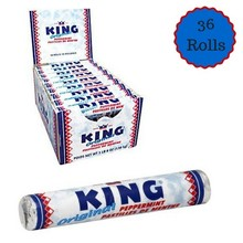 King Peppermint Rolls Box - 36 roll box
