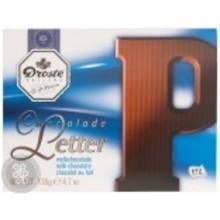 Droste Large P Milk Chocolate Letter - 4.7 OZ